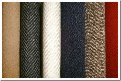 Наиболее популярные шерстяные пальтовые ткани