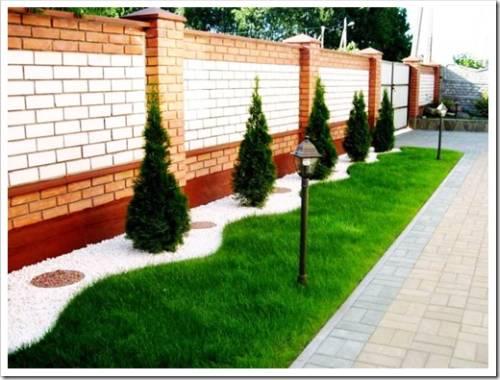 Использование кустов и деревьев