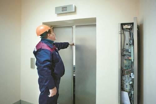 Как открыть двери лифта снаружи