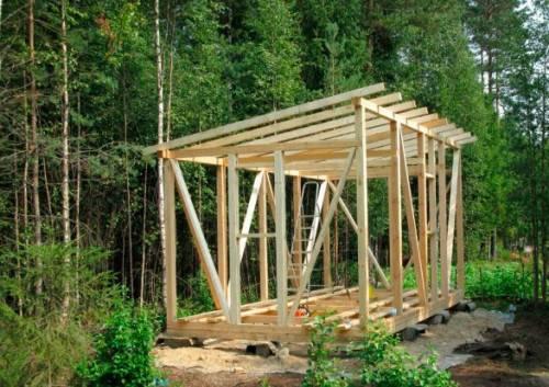Как построить бытовку