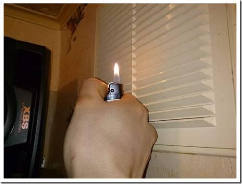 Проверка корректности функционирования вентиляции в квартире