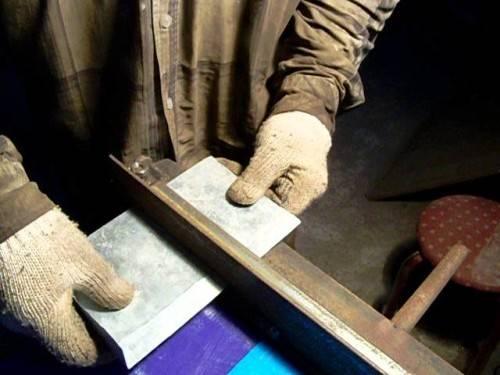 Как согнуть алюминиевый лист в домашних условиях