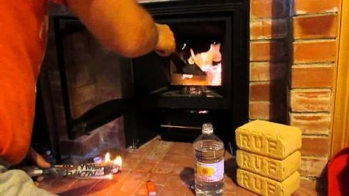 Как топить топливными брикетами