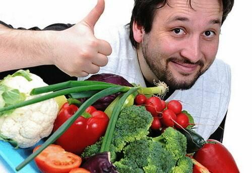 Какие овощи можно есть сырыми