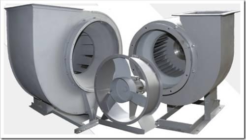 Промышленные центробежные вентиляторы