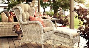 Преимущества ротанговой мебели