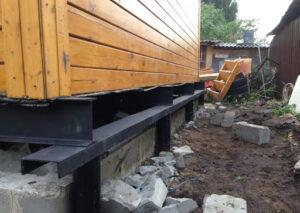 Реконструкция фундамента дома