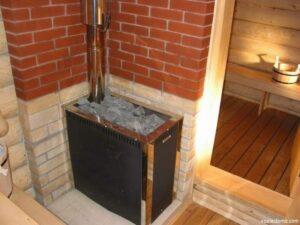 Печи с прямым нагревом камней для бани: особенности и преимущества