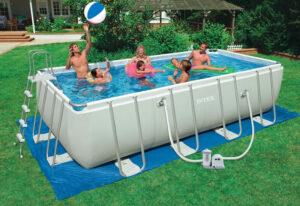 Особенности и преимущества каркасных бассейнов